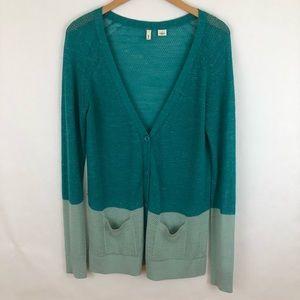 Anthropologie Moth cardigan sweater size Large